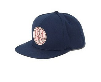 Herschel Supply Co. 正品代購 可調式休閒深海藍挺版品牌棒球帽 現貨
