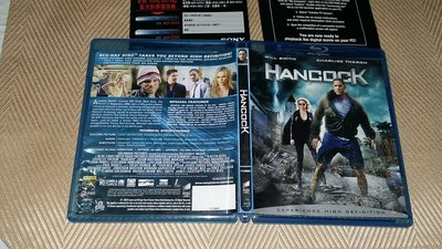 【李歐的二手洋片】銷售版幾乎全新 威爾史密斯 全民超人  DVD+藍光 BD 5.1 雙碟版 繁體中文字幕下標就賣