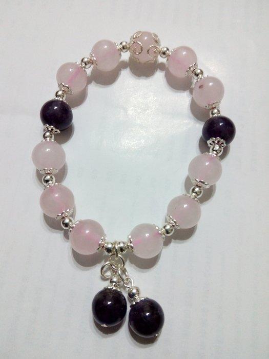 【九龍藝品】設計款水晶手珠 ~ 彈性線,珠子約10mm (5)