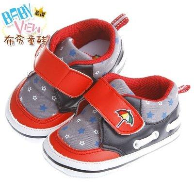 布布童鞋 ArnoldPalmer雨傘牌閃耀星星紅色寶寶學步鞋 [ MAP265A ] 紅色款【13~16cm】 新北市