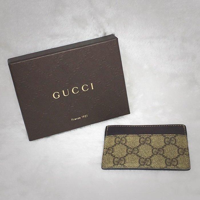 旺角名店 Gucci 家徽 名片夾 卡片夾