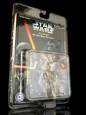 2FC-1 櫃 : STAR WARS 星際大戰 金屬 DIE CAST METAL C-3PO  FG