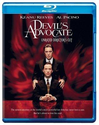 BD 全新美版【魔鬼代言人導演版】【Devil`s Advocate】Blu-ray 藍光 基努李維