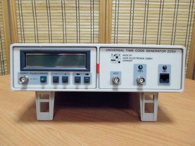 康榮科技二手測試儀器HKW-Elektronik ZZG3 Universal Time Code Generator