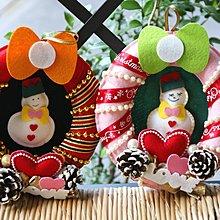 okdiygo玩趣不織布文創客製買1送1聖誕節聖誕環幼兒童國小樂齡DIY材料包工廠批發教學師資創業職訓美勞作手工藝手創包