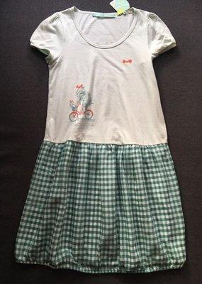 ❤️一口價$250 Franche Lippee 全新 日本製 格仔連身裙