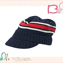 【B& G童裝】正品美國進口GYMBOREE Striped Sweater 紅色條紋嬰兒毛線帽12-18-24mos