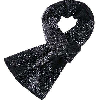 圍巾 羊毛 披肩-保暖休閒百搭針織男配件3色73wh34[獨家進口][米蘭精品]
