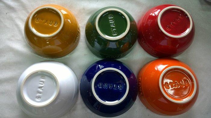 Staub  6種顏色 碗 12公分 0.4L