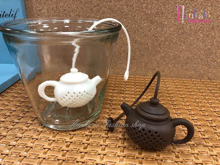 ☆[Hankaro]☆ 創意趣味矽膠茶壺造型沖茶器