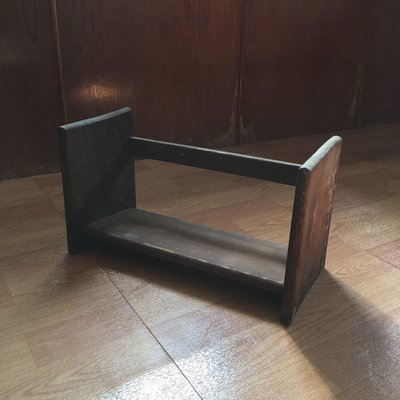 (Sold)50年代台灣木頭手工書架