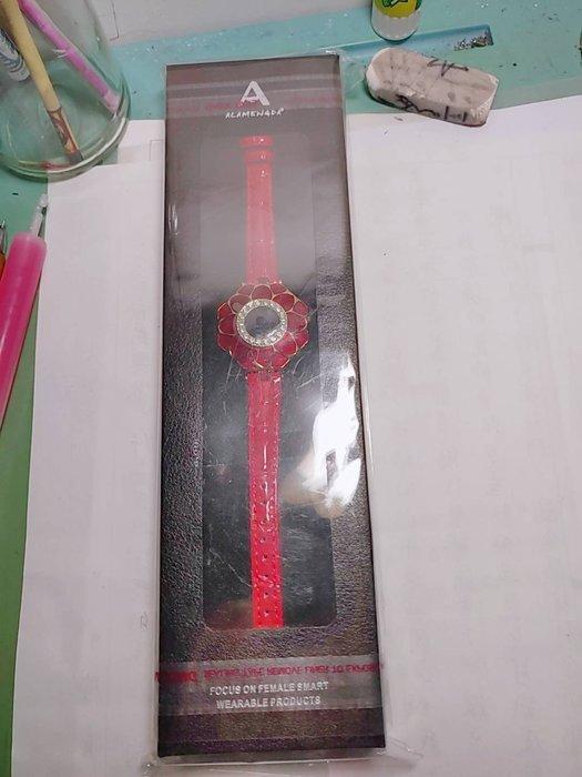My Watch 璀璨女士健康管家藍牙智慧手環 MY13 心率手環 運動手環--紅色