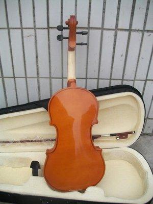 全新入門亮光小提琴初學者練習小提琴--紫色薇洋