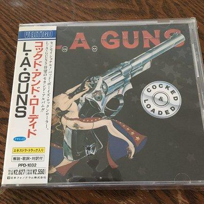 [老搖滾典藏] L.A. Guns-Cocked & Loaded 全新日版專輯
