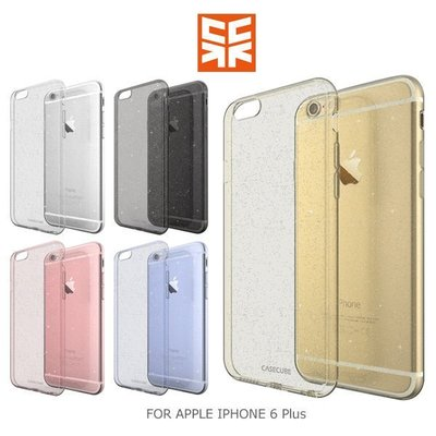 *PHONE寶*Case Cube APPLE IPHONE 6 Plus 5.5 金粉 TPU軟殼 後背包覆殼