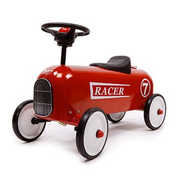 Luxury Life【預購】Baghera Ride-on Racer 經典賽車 嚕嚕車 / 學步車 禮盒版