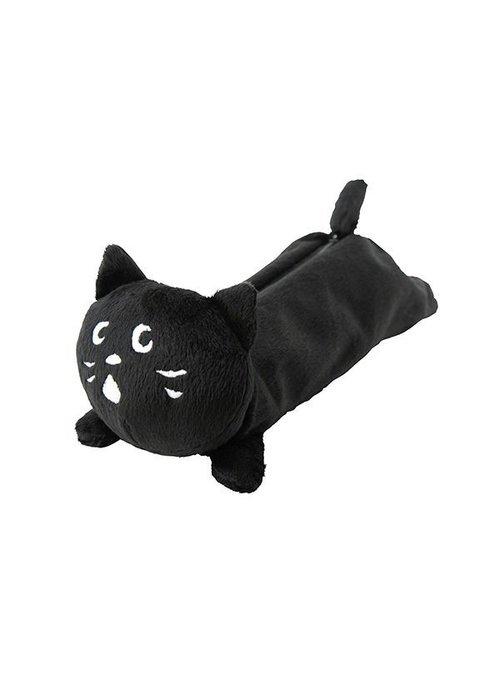 日本 Ne-net 新款貓咪絨毛筆袋 隨身小包