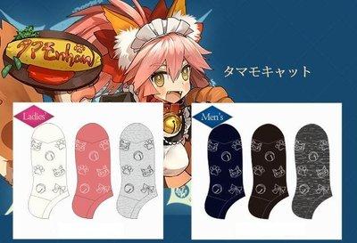 毛毛小舖--現貨 Fate FGO X Avail 聯名短筒襪 玉藻貓 三雙一組 襪子 男款