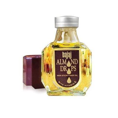 YES 美妝-印度 Bajaj Almond 天然杏仁護髮油 50ML比摩洛哥 MISE好用【V752522】