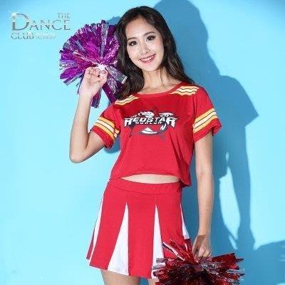 YEAHSHOP 足球寶貝服裝啦啦操表演服拉拉隊服裝女套裝啦啦隊 2593Y185