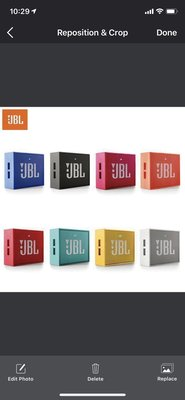 JBL GO 第一代無線藍芽喇叭 Bluetooth Speaker