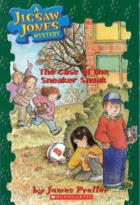 *小貝比的家*JIGSAW#16: THE CASE OF THE SNEAKEY SNEAK/書+CD/7~12歲