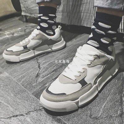 有家服飾男鞋子夏季bf風潮鞋正韓潮流板...