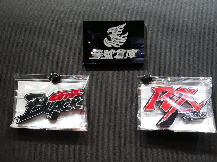 (參號倉庫) 現貨 魂商店 限定 EX假面騎士 壓克力 立牌 LOGO 展示牌 假面騎士 black RX SHF