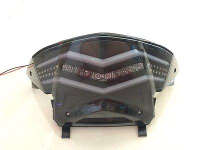 【YST】彪虎 TIGRA 地瓜 LED 水晶 導光 跑馬 尾燈 125 150 ABS 後燈 特仕版