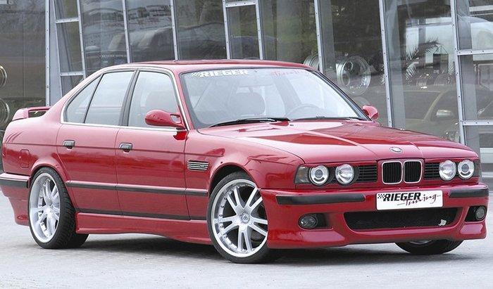 【樂駒】RIEGER BMW 5-series E34 side skirt 側裙 外觀 空力 飾板 套件