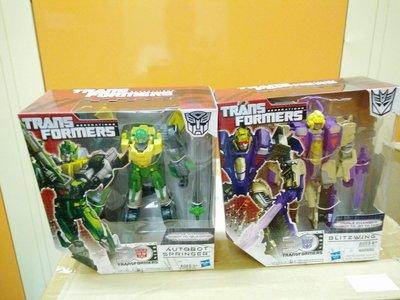 全新 正品 美版HASBRO 孩之寶 變形金剛 Transformers Springer 百丈跳  Blitzwing 閃電 可3變