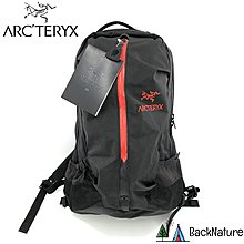 Arcteryx Arro 22 Backpack Black Cayenne 經典書包 潮流背囊