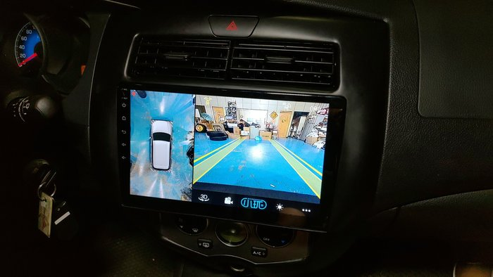 [樂克影音] 大屏上網機型9吋/10吋 自帶全觸控3D環景功能  導航/藍芽/MP4/地圖/商店/KK BOX