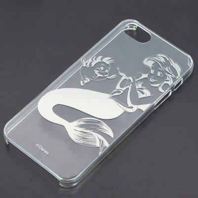 尼德斯Nydus~* 日本正版 Disney 迪士尼 透明系列 手機殼 保護殼 iphone5 5S 小美人魚 太空銀