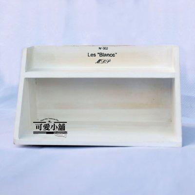 (台中 可愛小舖)簡約鄉村風格白色二層桌上型小收納櫃置物櫃文具收納辦公室小物辦公室收納餐廳餐桌餐具擺放調味料可放置民宿可