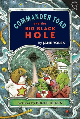 大師Jane Yolen繪本 Commander Toad and the Big Black Hole 64p
