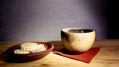 (店舖不續租清倉大拍賣)簡銘炤先生--柴燒茶碗#19#,原價3800元特價2800元