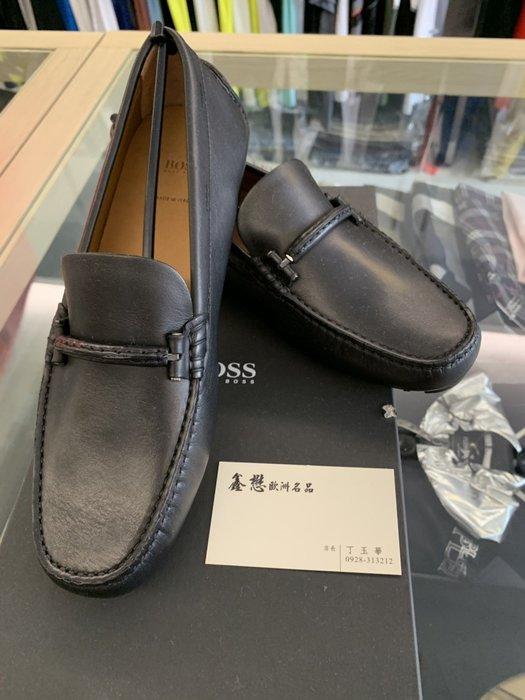 HUGO BOSS 雨果博斯 義大利製 時尚 特殊處理 全真皮 紳士穿搭 休閒鞋