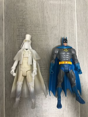 Dc universe gentlemen ghost and batman