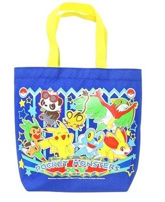 【胖兔兒精選】日本 神奇寶貝 皮卡丘 手提袋 POKEMON 精靈寶可夢 上學 國小 幼稚園 便當袋 尼龍提袋