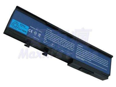 全新保固一年ACER宏碁TravelMate 6292-603G32Mi系列筆記型電腦筆電電池6芯黑色-S005
