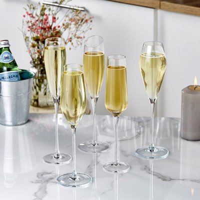歐式水晶香檳杯紅酒杯家用起泡酒杯玻璃氣泡高腳杯雞尾酒杯洋酒杯yi   全館免運
