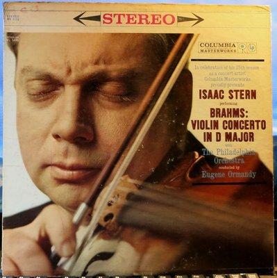 黑膠 Stern 史坦 - Brahms 布拉姆斯 : 小提琴協奏曲 (美CBS 6眼首版)