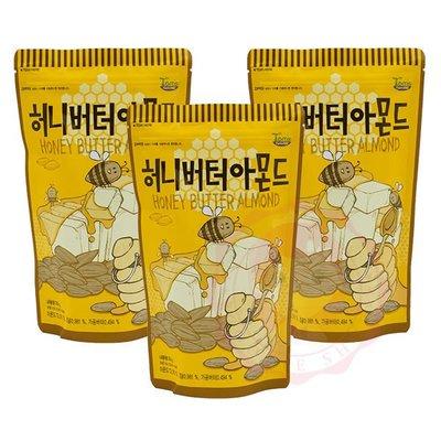 韓國 Toms Gilim 蜂蜜奶油杏仁果 杏仁 堅果 核桃 腰果 進口零食(210g)【庫奇小舖】【F8】
