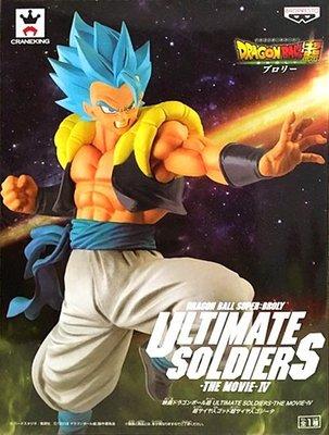 日本正版 景品 七龍珠超 電影版 超級賽亞人之神 超級賽亞人 悟基塔 公仔 模型 日本代購