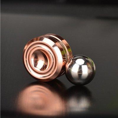 磁鐵陀螺溜溜球電鍍金屬益智玩具減壓神器指尖陀螺 QQ1083