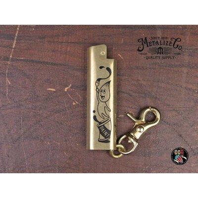 《美式工廠》METALIZE Cricket/黃銅打火機套-日本Hopping Shower harley 883 48