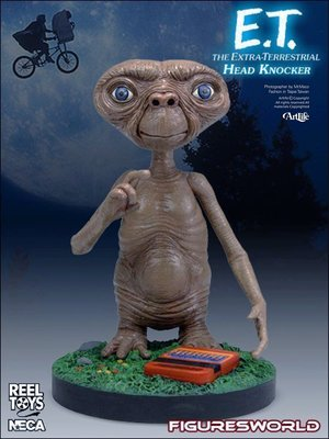 ArtLife @ NECA E.T. ET Extra Terrestrial Head Knockers 搖頭公仔