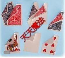 【天天魔法】【A908】紅白牌(一面紅背一面白牌)(正宗原廠Bicycle 808 特殊牌)