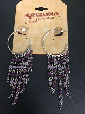 耳環 🌻earrings tassel purple Arizona jean fashion jewellery 流蘇 耳環 出口飾品 耳釘 女裝